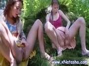Censored в лесу русских девок