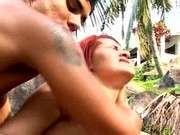 Экзотическое порно в джунглях онлайн