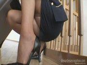 Порно русских блондинок стюардесс