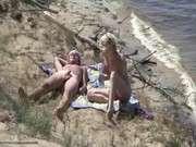 Порно секс на пляже нудисты