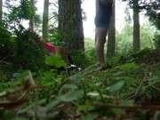 Секс в лесу осеннем лесу