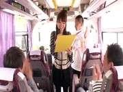 ?понка в автобусе порно